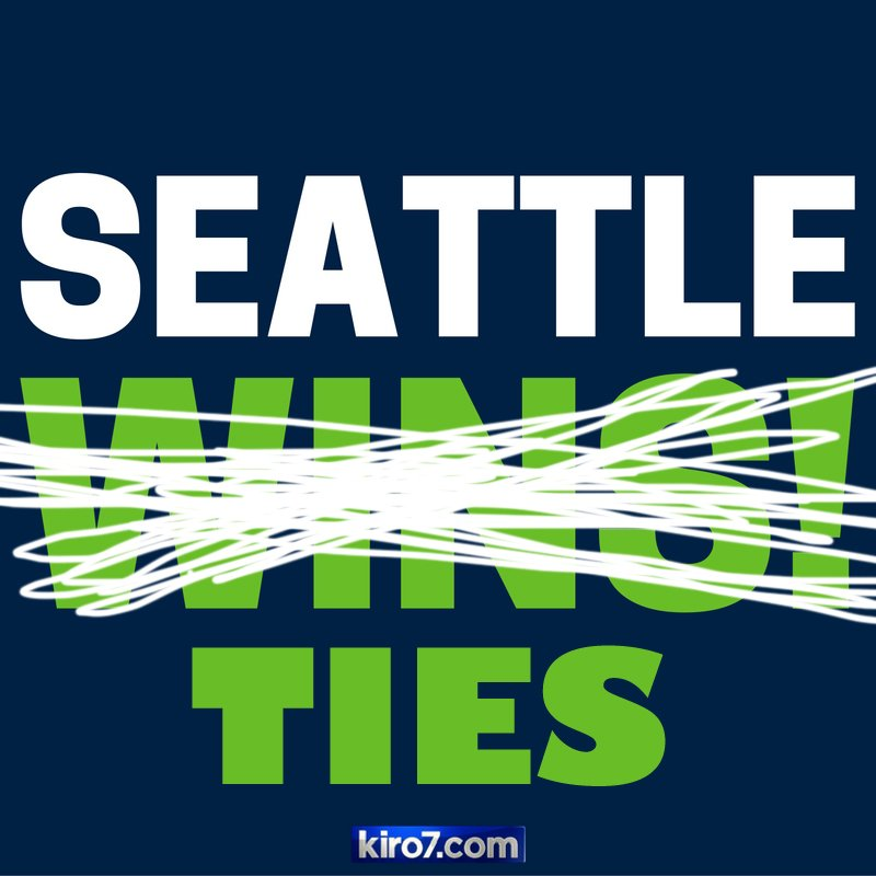 SEATTLE TIES. 6-6. >> >>