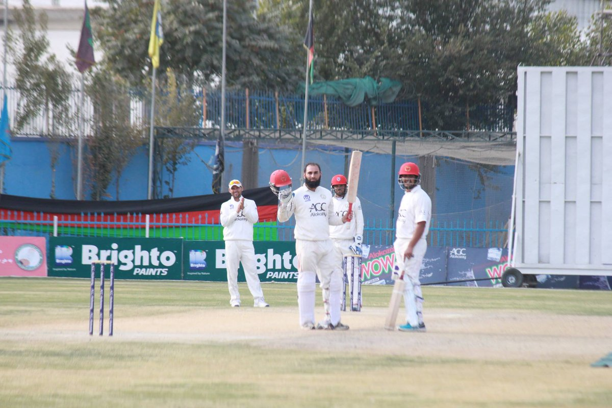 Afghan Cricket Board On Twitter Ahmad Shah Abdali 4Day SG165 BA363 8 854 Ov BA Lead By 198 Runs With 2 Wickets Remaining In The 1st Inn