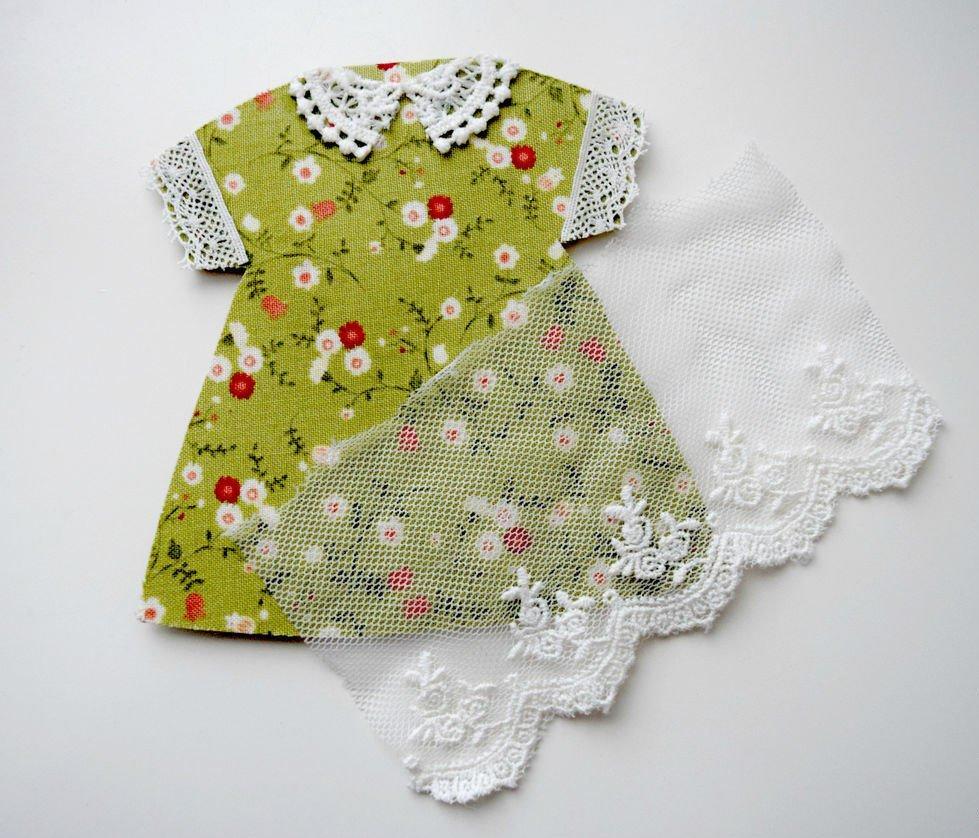 пошить платье для куклы выкройка