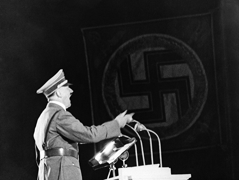 adolf hitlers use of oppression tactics to control nazi germany