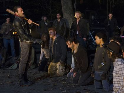 'The Walking Dead' starts season 7 with gore and Negan's victims revealed TheWalkingDead