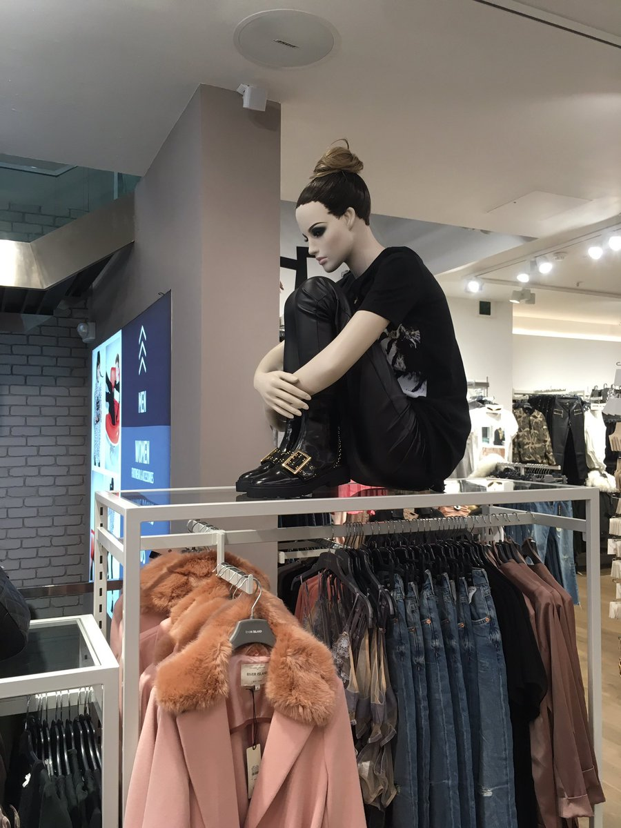These Emo Mannequins Will Speak to Your Cold, Dark Heart