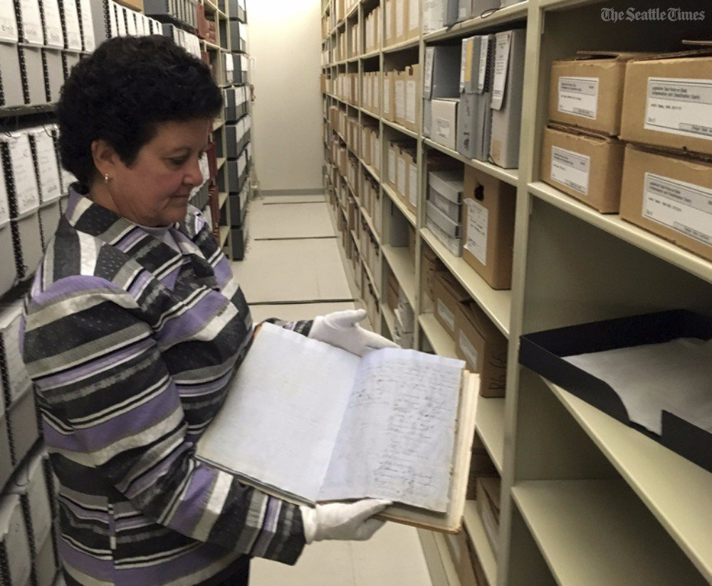 Oregon aims to preserve the original, 159-year-old copy of its constitution, warts and all