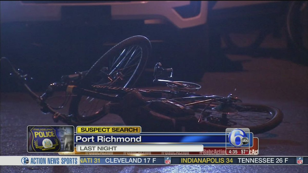 Police: Suspect tried to run over officer on bicycle in Kensington 6abc -