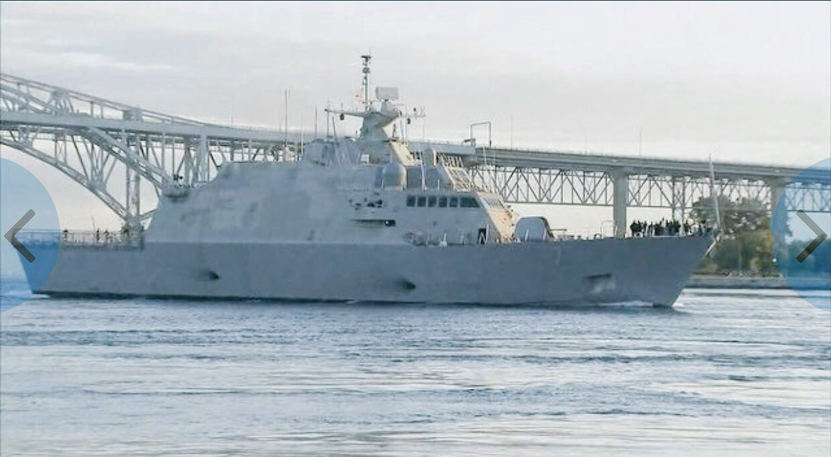 HAPPENING TODAY: USS Detroit making first international port visit when it docks in Windsor at 12pm today