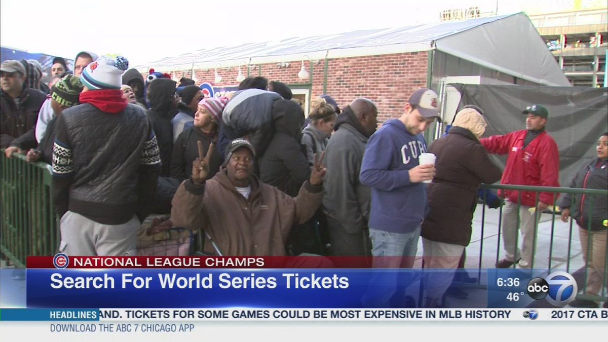 Cubs fans can expect steep prices for World Series tickets