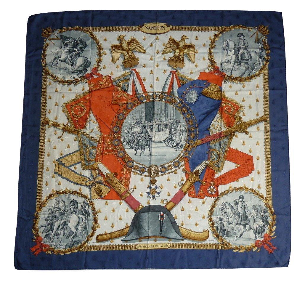 c315a42643e Hermès - foulard Napoleon Philippe Ledoux Firstissue: 1963 - Catawiki  http://ow