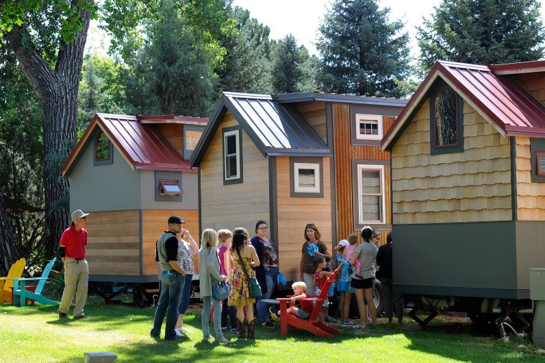 After the devastating 2013 floods, tiny homes are sprouting up in Lyons