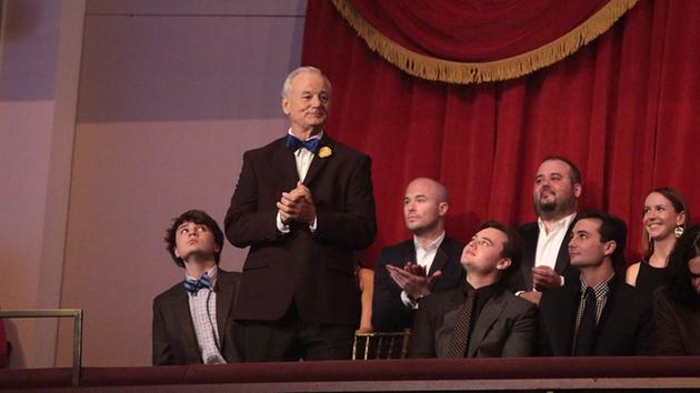 Bill Murray honored as he accepts Mark Twain prize for humor