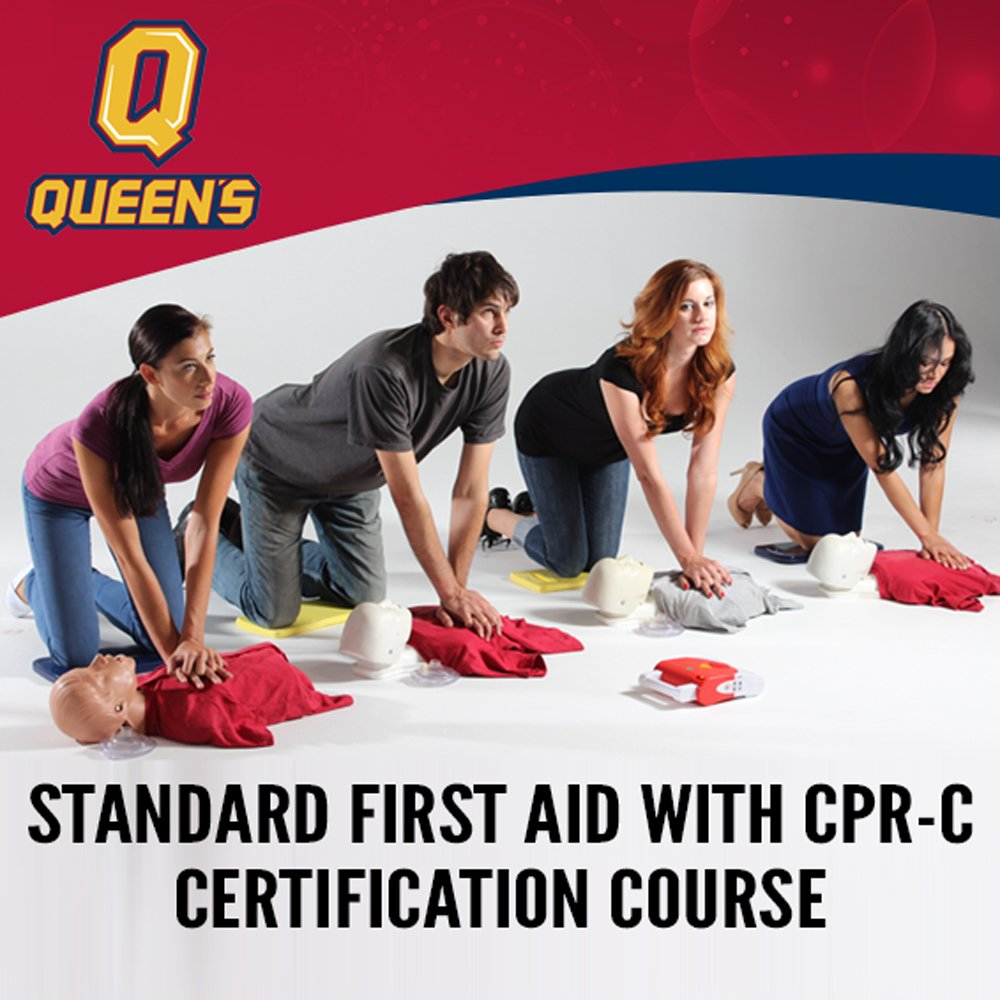 Queens Arc On Twitter Course Alert Standard First Aid With Cpr C