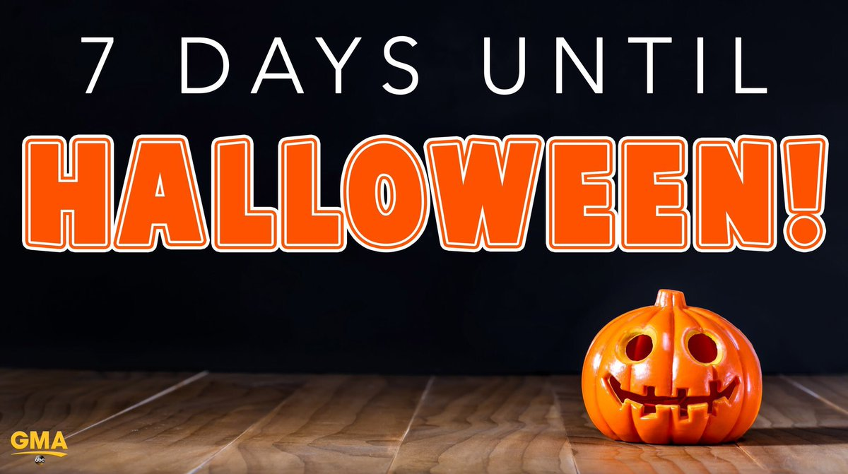 Halloween is in 7 days and the election is in 15 days. Which one scares you the most?