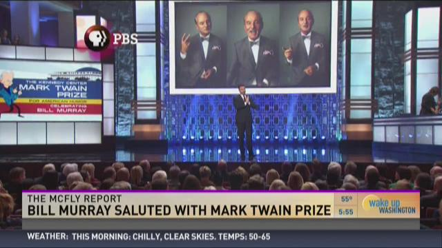 Bill Murray saluted with Mark Twain prize