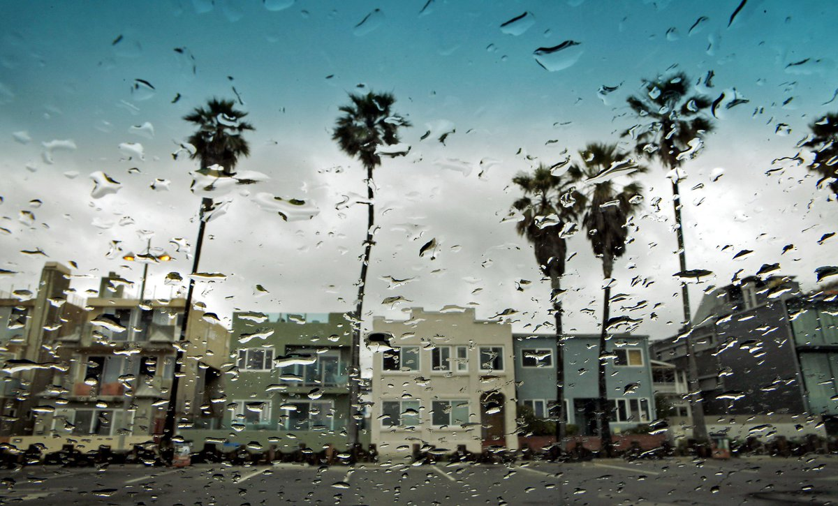 Rain moves into Southern California with a bigger storm forecast for later in the week