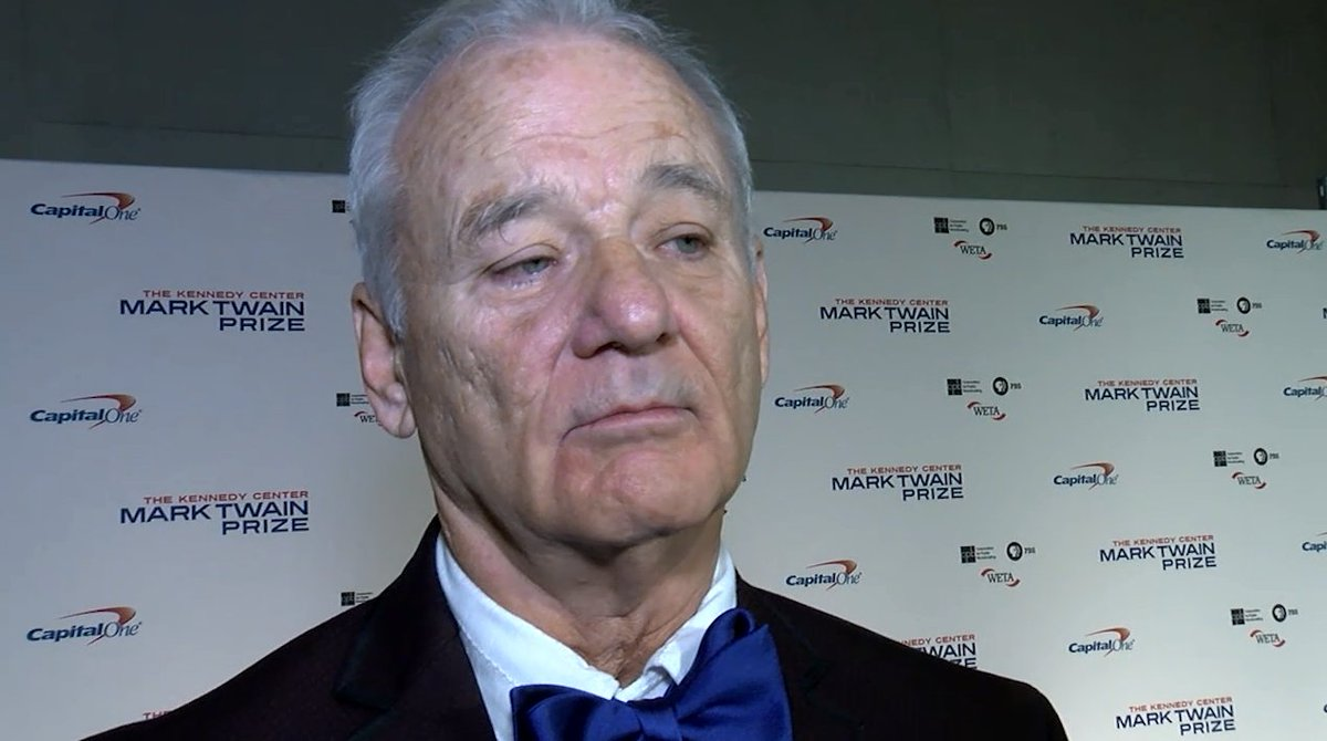 Bill Murray honored as he accepts Mark Twain prize for humor at Kennedy Center