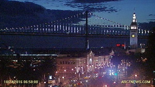 Before sunrise in the City. SanFrancisco