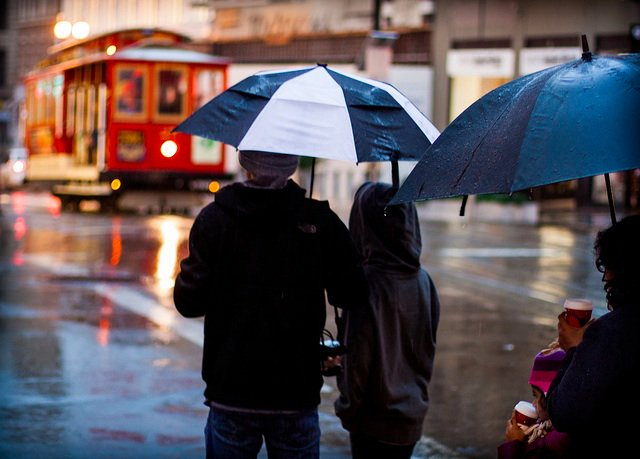 SF Weather Report: You Will Be Rained Upon Most Of This Week, Through Halloween