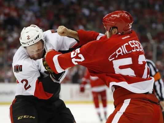 @DetroitRedWings' Ericsson thrives with new attitude