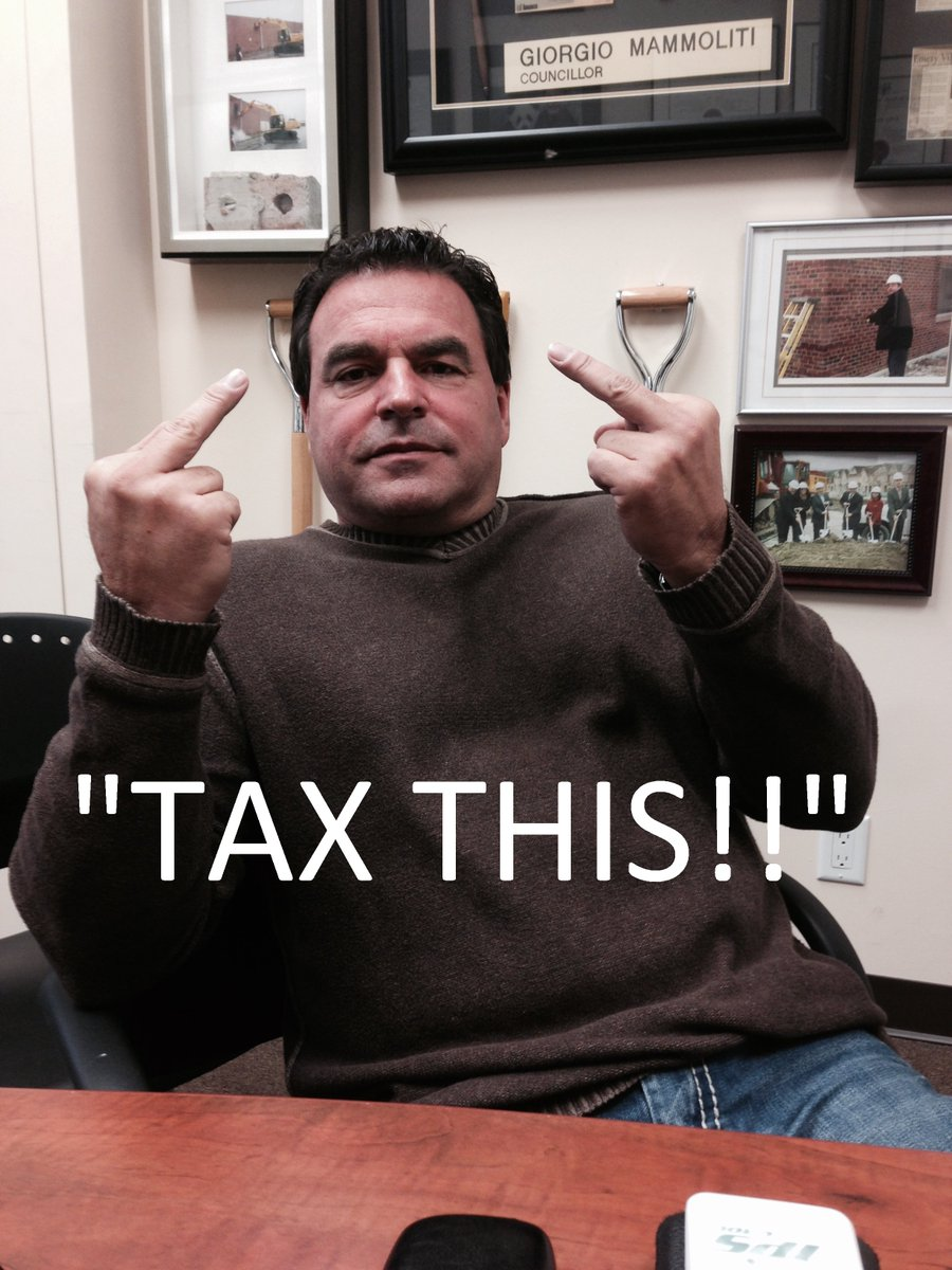 Here is a photo that just landed in my inbox, from Giorgio Mammoliti's office. https://t.co/BGFcCTkYL6