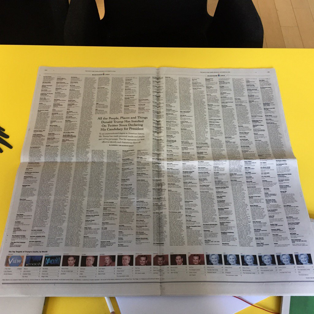This is something only print can do. The impact is incredible. @nytimes https://t.co/oEaNmbpult