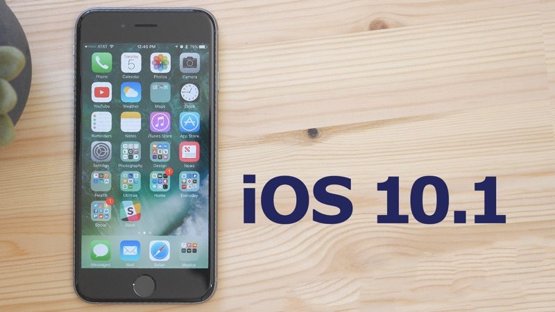 Apple Releases iOS 10.1 With New Portrait Mode for iPhone 7 Plus...
