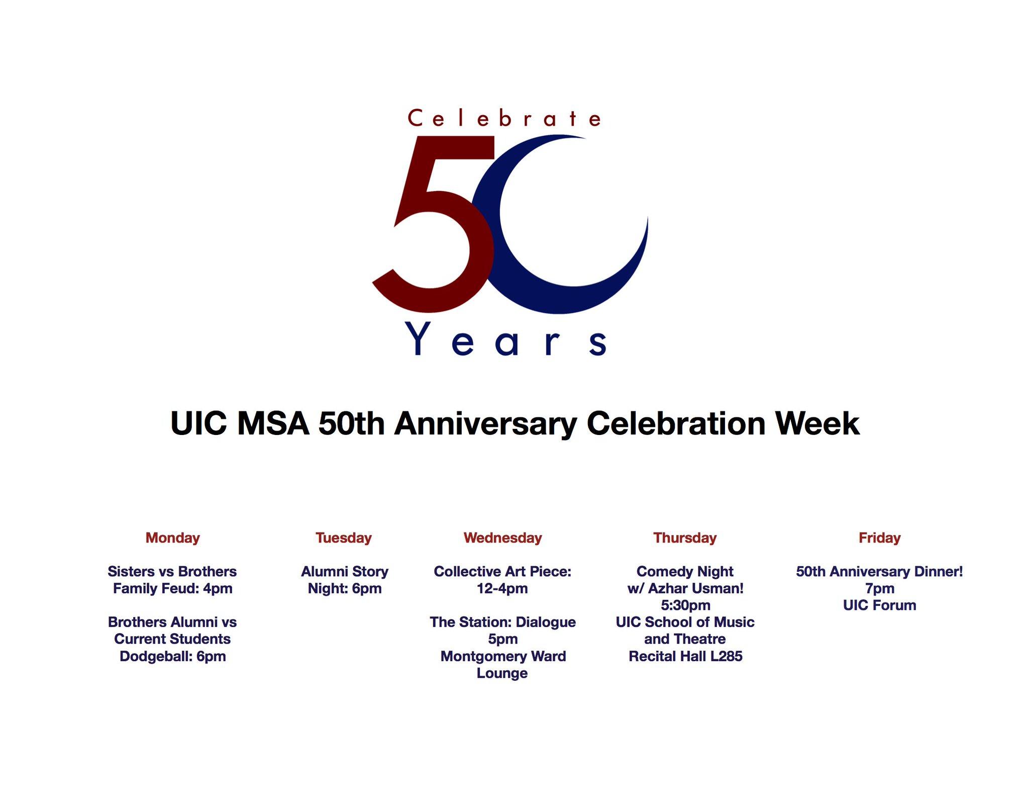 uic 50th anniversary