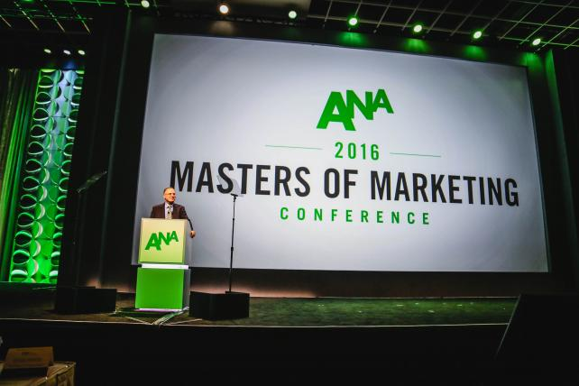 """ICYMI: @ANAmarketers CEO Bob Liodice: """"Marketers must take their industry back"""" #ANAMasters https://t.co/Wn6elNDesv https://t.co/DQHs9MNby9"""