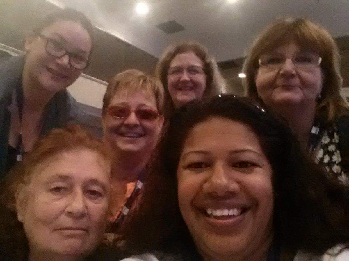 #SEIUNURSES @SEIUHealthCan Larisa, Mary, Chris, Pam, Cally, me. Day 1  Nursing Convention. Oct 24-26 Scarborough, ONpic.twitter.com/QEeqsYGmoH