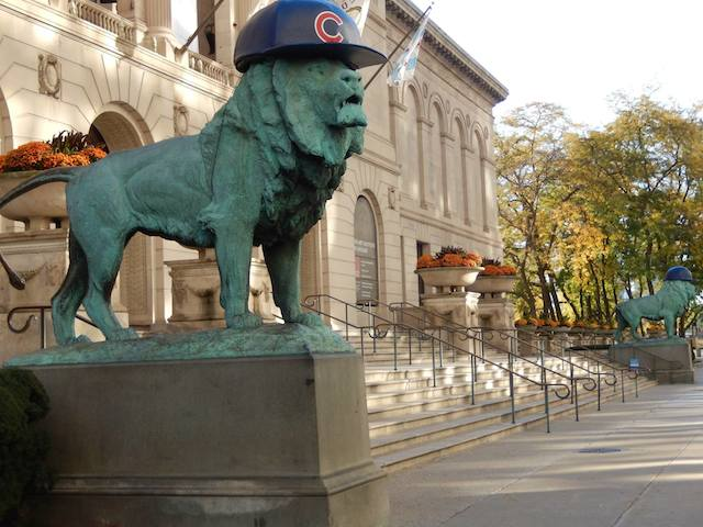 The Art Institute Lions Are Finally Repping The Cubs