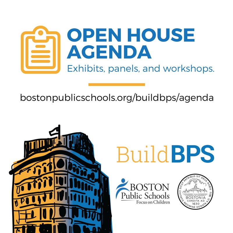 Learn more about the exhibits, panels, and workshops offered at this weekend's #BuildBPS Open House https://t.co/6H4cR60DS1 https://t.co/qtARF2nrCp