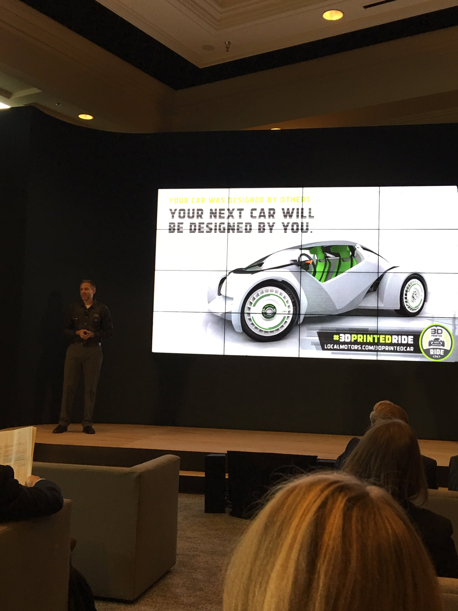Your next car will be designed by you. @localmotors @IBMAutomotive #ibmwow https://t.co/kQnwd4vMOJ