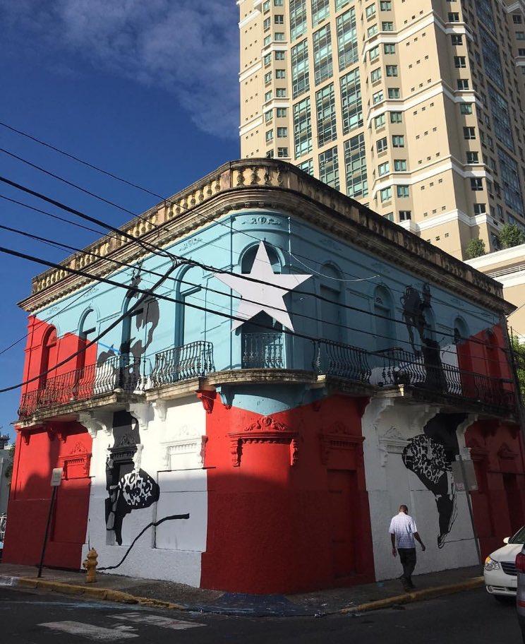 ¿Qué tal este mural que ubica en Santurce? https://t.co/OZ2k1B7aYB