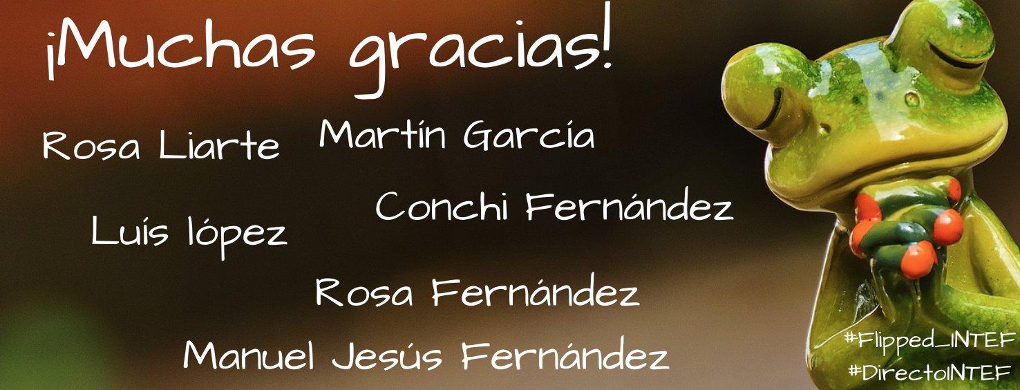 Gran mesa!!!  #flipped_intef #CREA_INTEF #ABP_INTEF #DirectoINTEF https://t.co/igycKOKqkl