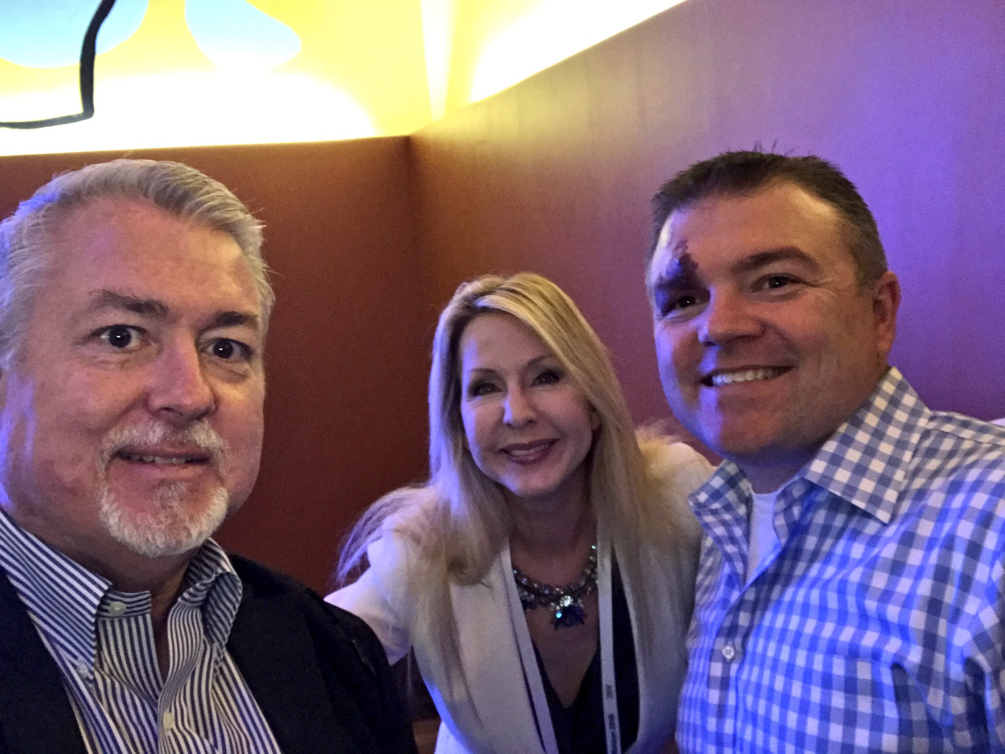 At the #IoT Jamboree lunch at #IBMWoW with the terrific @tcrawford and @TamaraMcCleary. #ai https://t.co/RQeZfyJ4VU