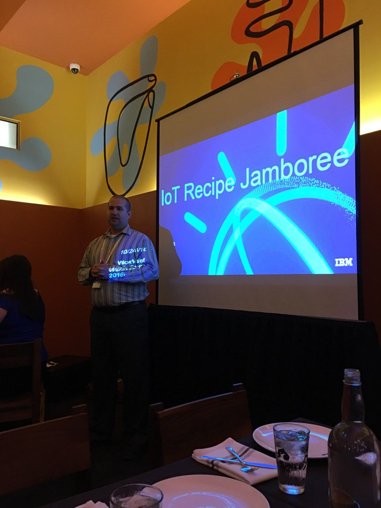 . @theRab throwing it down at the #IoT Jamboree. #IBMWoW #WatsonIoT https://t.co/2xPRLID7hH