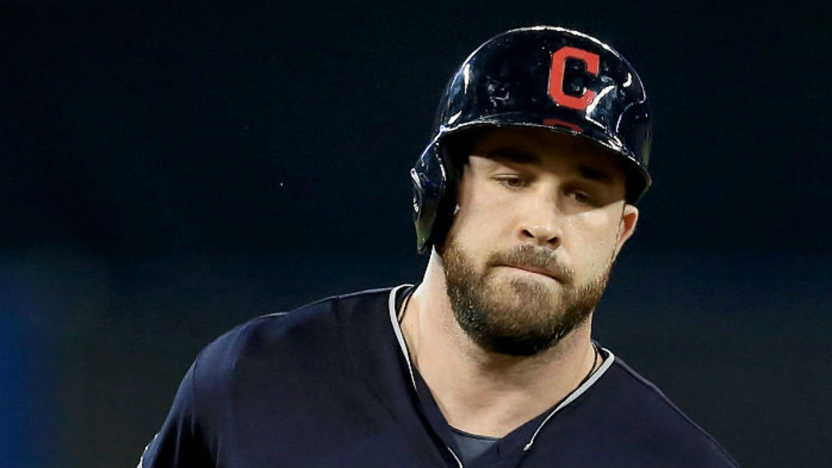 Indians star conflicted as he faces favorite team in World Series: Report Cubs FlyTheW