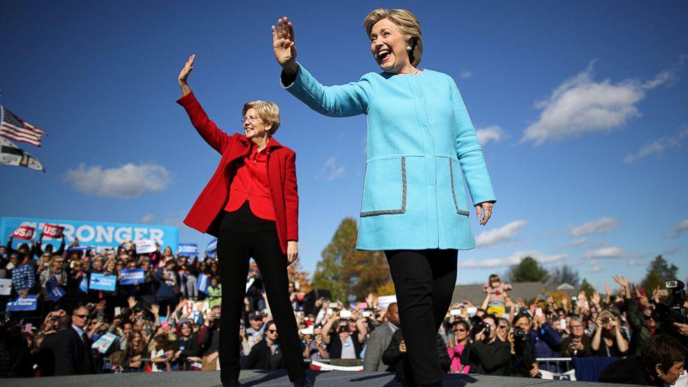 Elizabeth Warren fires back at Trump: 'Nasty women vote' --