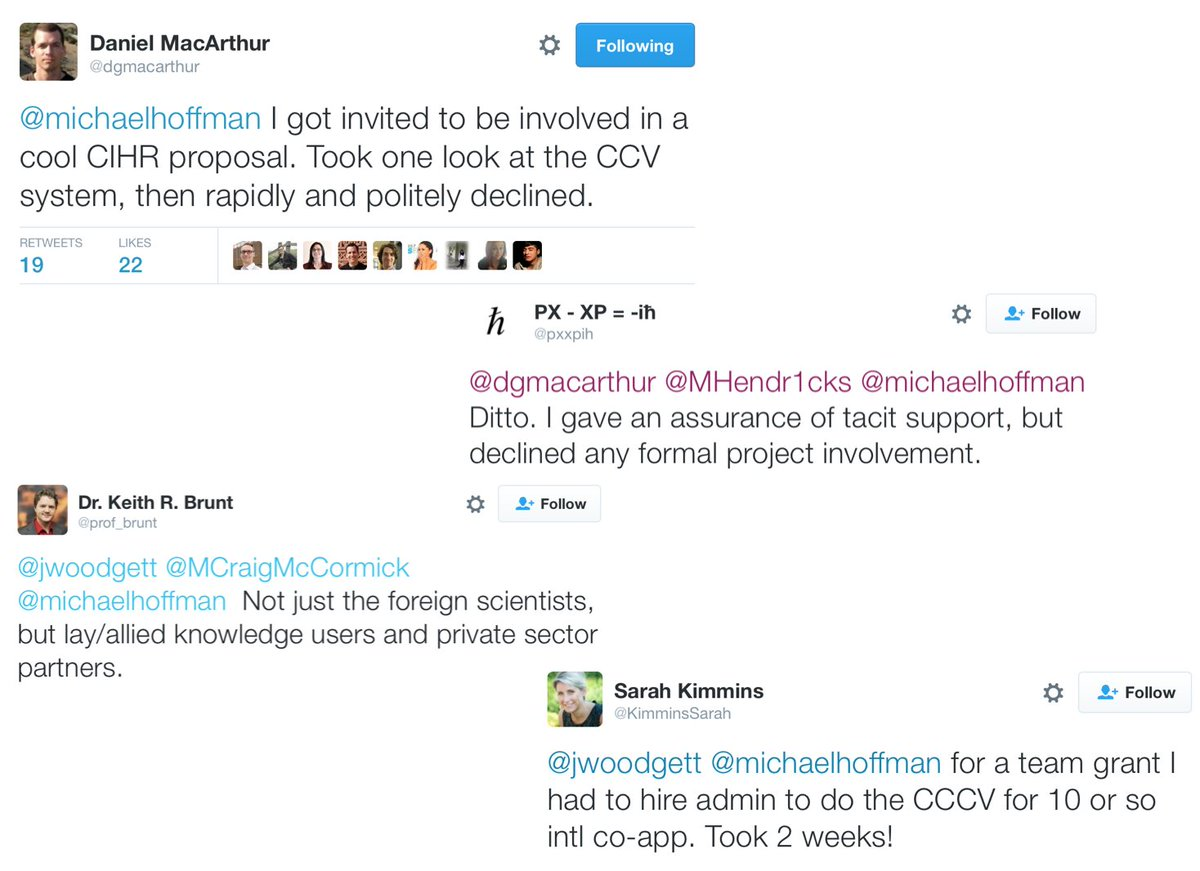 jim woodgett on twitter common cv was declared too cruel to be use