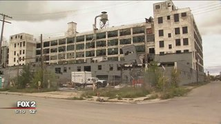 City cracks down on graffiti and cleans up Fisher body plant, reports @camillefox2news