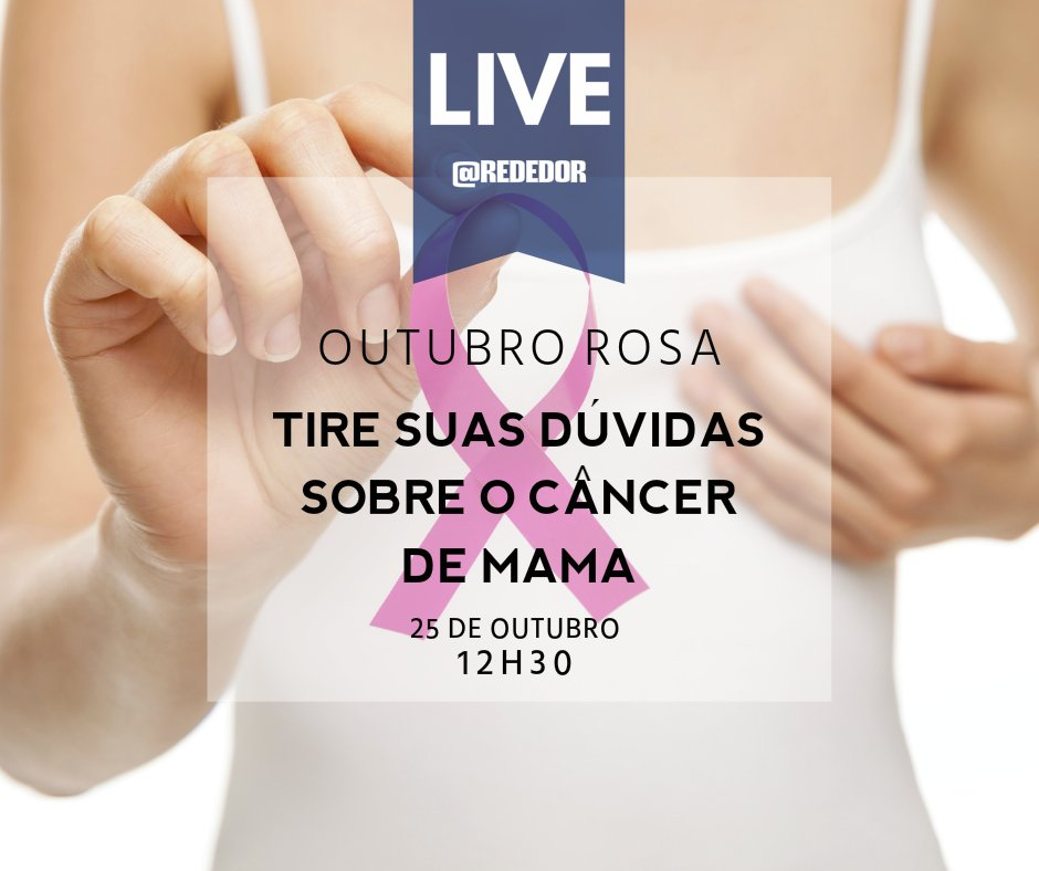 Amanhã, no Facebook da Rede D'Or, a Dra. Ellyete Canella, do Centro de Mama do Hospital Quinta D'Or, participará de… https://t.co/7s4srGTY5t