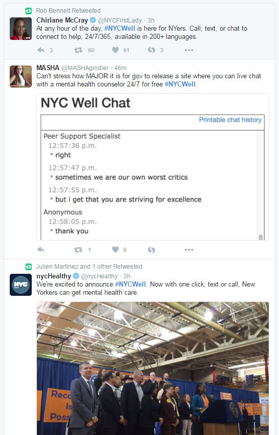 Sree Sreenivasan 谢瑞睿 On Twitter This Week S Launch Of Nycwell