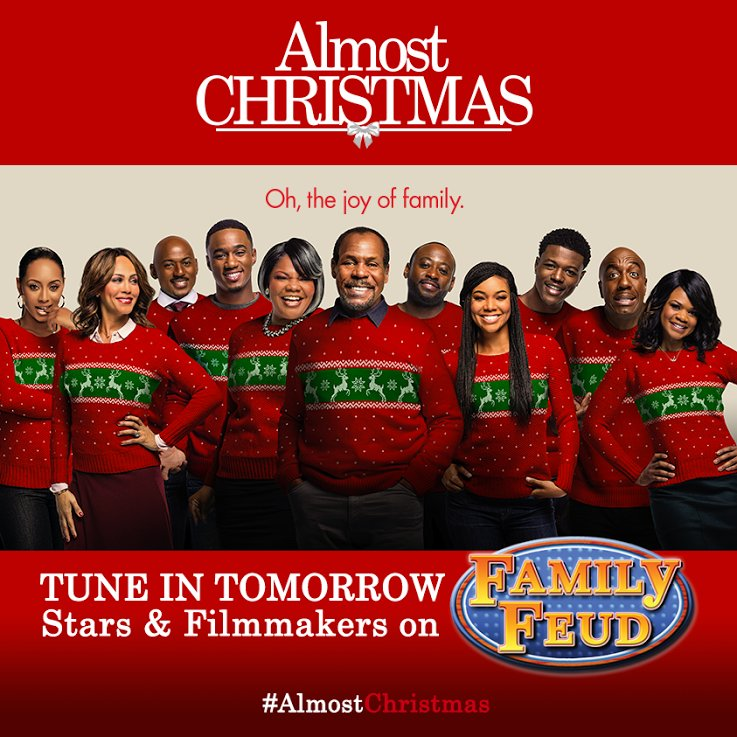 Almost Christmas Cast.Almost Christmas On Twitter The Almostchristmas Cast