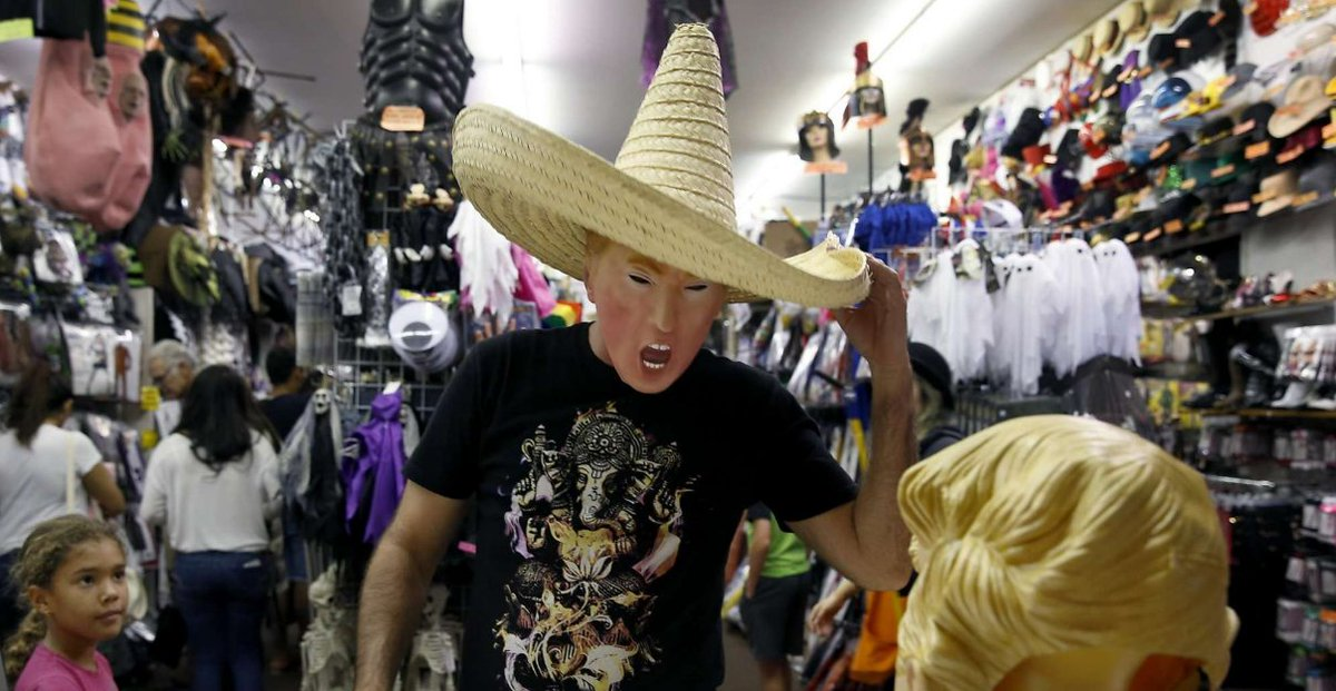 'Bad hombres,' 'nasty woman' fuel Halloween entrepreneurs. via @thewendylee