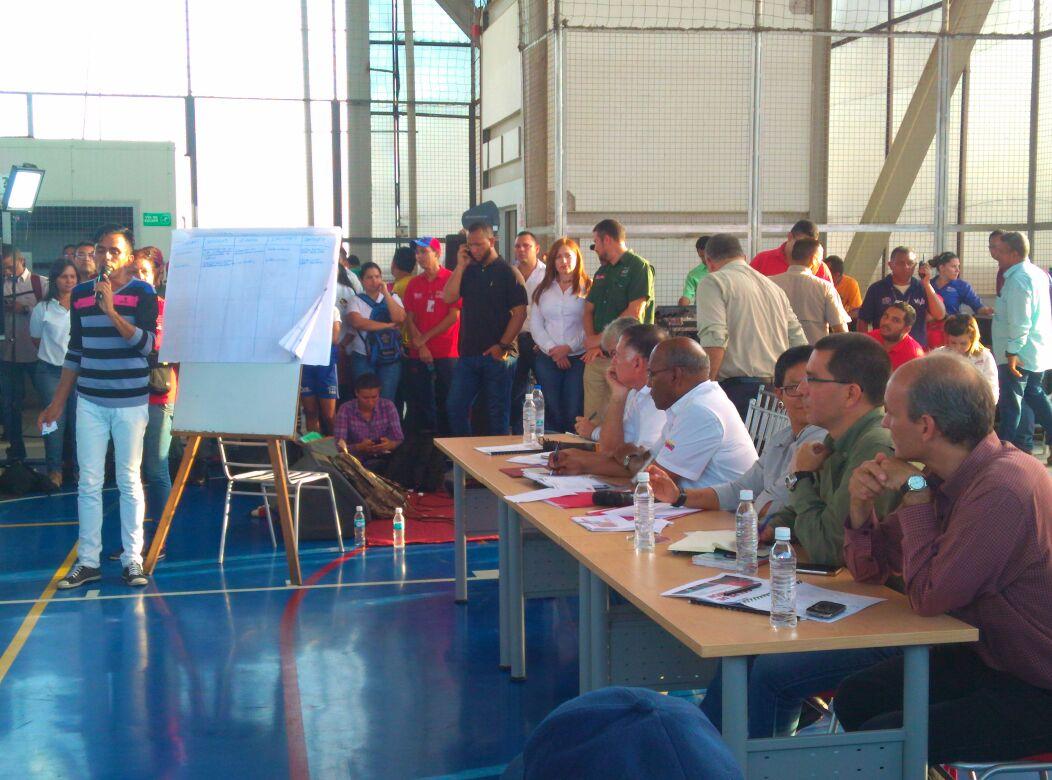 Vicepresidente Istúriz anunció actividades de Gobierno de Calle desde el Zulia