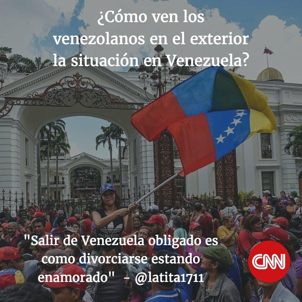 C mo ven los venezolanos en el exterior la situaci n en for Venezolanos en el exterior