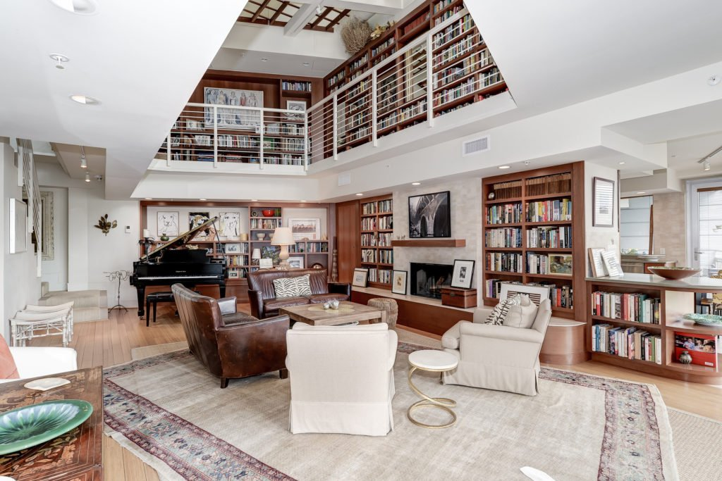 This Dupont Circle Condo Represents the Platonic Ideal of a Home Library