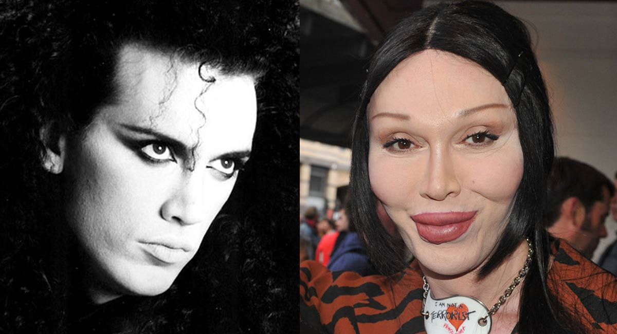 Foto Pete Burns rifatto.