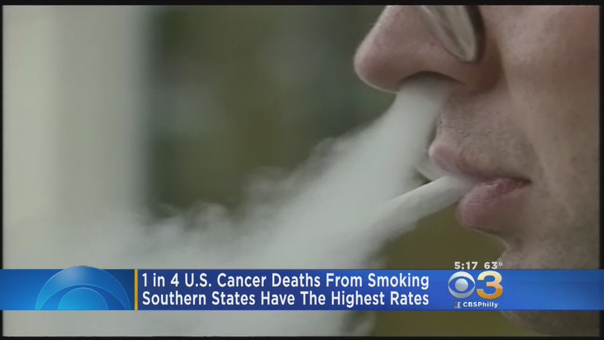 New Study: 1 In 4 Cancer Deaths Are From Smoking In U.S.