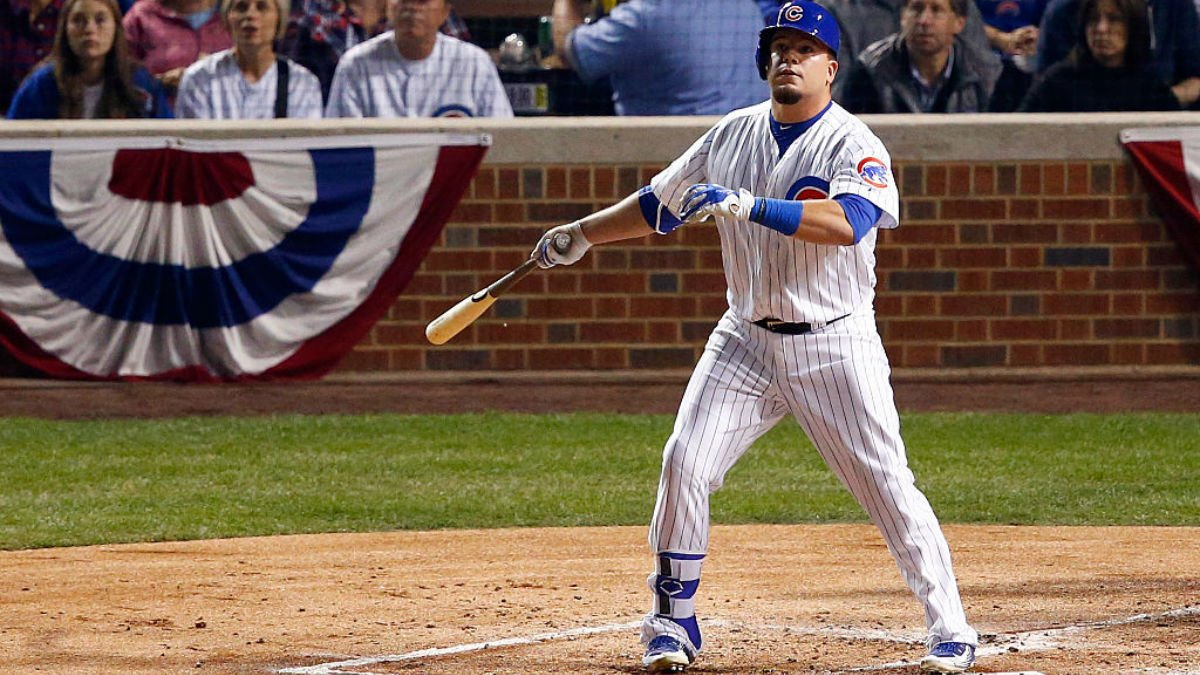 Decision reached on Kyle Schwarber's World Series status: Reports Cubs FlyTheW