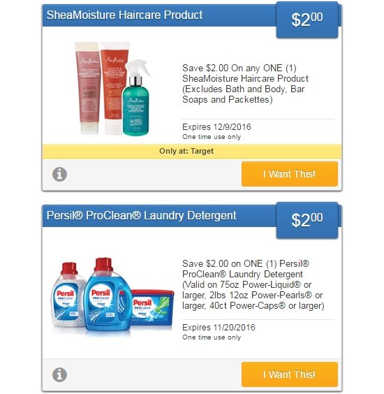 I Coupons On Twitter New Shea Moisture Persil Savingstar Offers Activate Them Or Sign Up Here Https T Co 2degvvkeeb Coupons Couponing Couponcommunity Https T Co Ek3dpqloka