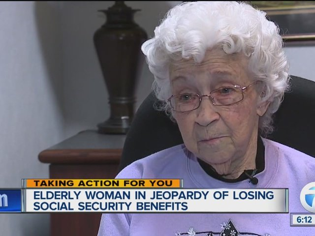 Elderly woman in jeopardy losing social security calls 7 Action News for help.